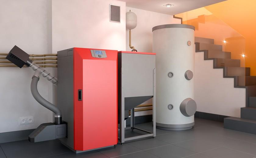 Caldera de Biomasa y pellets